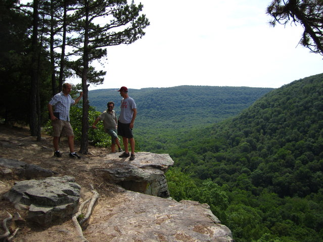 Hawksbill Crag In The Ozark National Forest