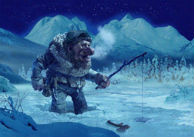 Norwegian Trolls By Ivar Rodningen Part 1