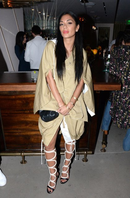 Nicole Scherzinger attends Dave Chappelle Private After Party At The h.wood Group's Special Preview Of Harriet's Rooftop Lounge at the Upcoming 1 Hotel West Hollywood on September 18, 2018 in West Hollywood, California. (Photo by Vivien Killilea/WireImage)