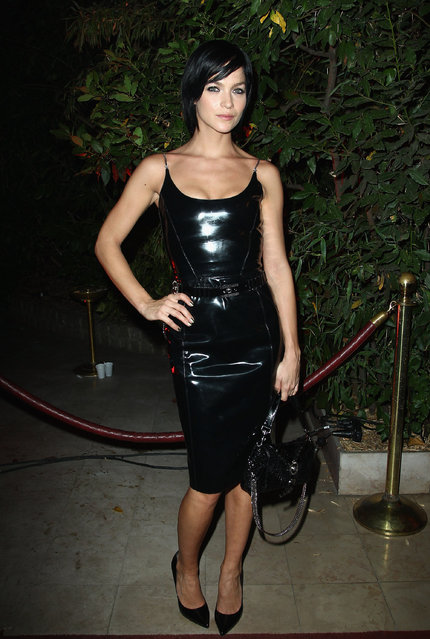 """Leigh Lezark attends the """"Mademoiselle C"""" cocktail party at Pavillon Ledoyen on October 1, 2013 in Paris, France. (Photo by Julien M. Hekimian/Getty Images)"""