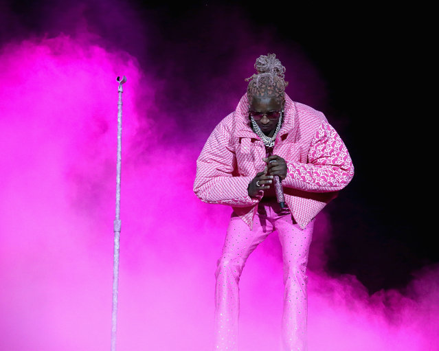 Rapper Young Thug performs in concert closing out the last day of Lollapalooza at Grant Park on August 1, 2021 in Chicago, Illinois. (Photo by Gary Miller/FilmMagic)