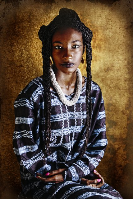 Peulh Guinea. Choumali, living in modern and cosmopolitan Abidjan, felt disconnected from her grandmother who was based in rural Ivory Coast. After she died, Choumali worried she was losing touch with her roots. (Photo by Joana Choumali/The Guardian)