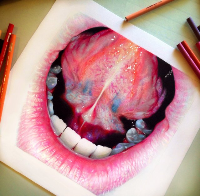"Colored Pencil Illustrations By Morgan Davidson"" alt=""Colored Pencil Illustrations By Morgan Davidson"