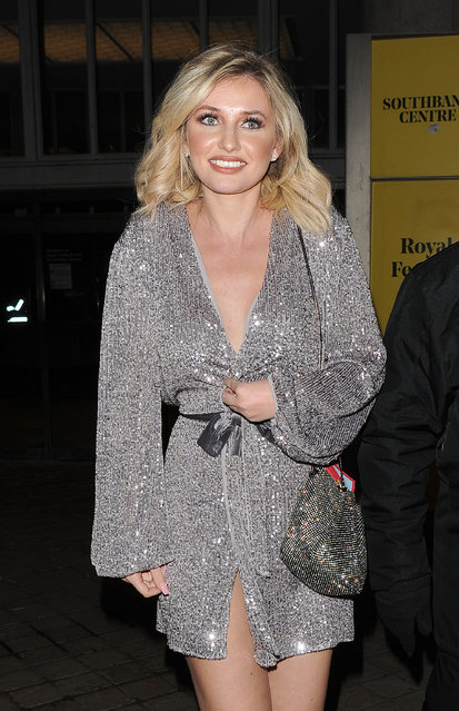 UK Love Island's Amy Hart seen attending ITV Palooza! at Royal Festival Hall on November 12, 2019 in London, England. (Photo by The Mega Agency)