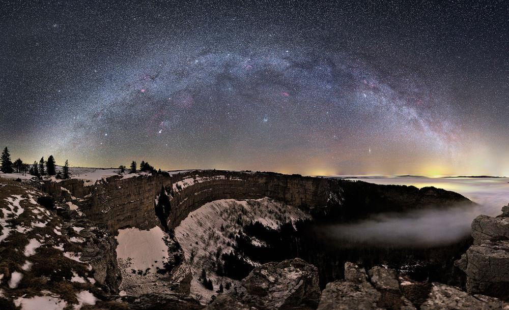 Milky Way Over ...
