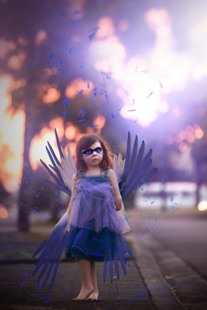 """The Blue Angel"". (Photo by Holly Spring)"
