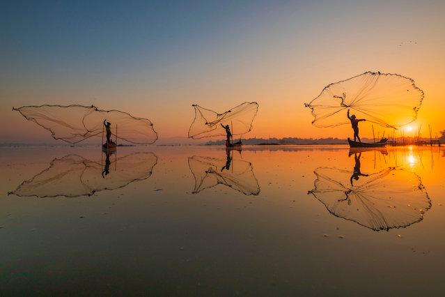 Bring home the harvest – The Morning Catch by Zay Yar Lin. (Photo by Zay Yar Lin/Pink Lady Food Photographer Award 2020)