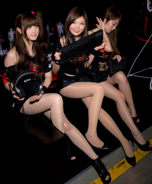 Asian Beauty: Hot Promotional Models in Taipei, Taiwan. Taipei Game Show 2012