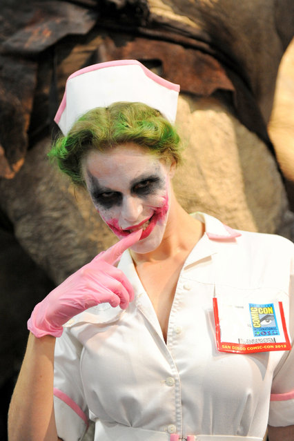 San Diego Comic-Con 2012: Nurse Joker. (Photo by Kendall Whitehouse)