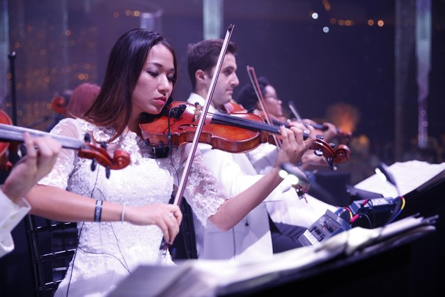 MCM Strings perform at the Governors Ball for the Television Academy's Creative Arts Emmy Awards at Microsoft Theater on Saturday, September 12, 2015, in Los Angeles. (Photo by Colin Young-Wolff/Invision for the Television Academy/AP Images)
