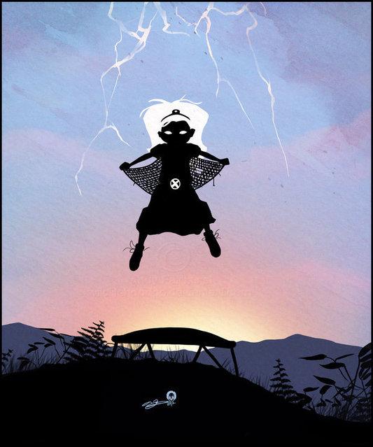 Superhero Kids by Andy Fairhurst