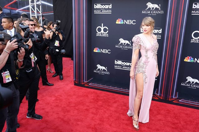 Recording artist Taylor Swift attends the 2018 Billboard Music Awards at MGM Grand Garden Arena on May 20, 2018 in Las Vegas, Nevada. (Photo by Nina Prommer/EPA/EFE/Rex Features/Shutterstock)