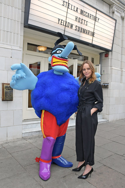 """Stella McCartney attends a private screening of """"Yellow Submarine"""" which she hosted to celebrate the upcoming launch of the """"All Together Now"""" collection at The Electric Cinema on June 24, 2019 in London, England. (Photo by David M. Benett/Dave Benett/Getty Images for Stella McCartney)"""