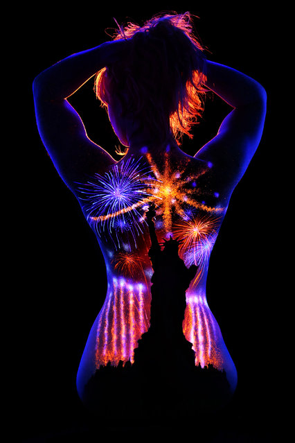"""Lady Liberty"". (Photo by John Poppleton/Caters News)"