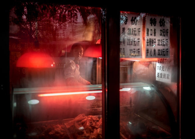 Cafe, Beijing. By Francis Cox, finalist: urban. (Photo by Francis Cox/UK National Geographic Traveller Photography Competition 2018)