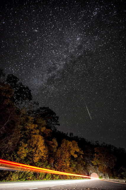 Orionid meteor shower, 2012. (Photo by Michael Orso/FlickrVision)