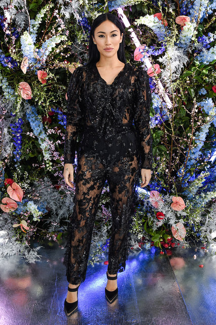 Stephanie Shepherd attends Rodarte FW19 Fashion Show at The Huntington Library and Gardens on February 05, 2019 in San Marino, California. (Photo by Presley Ann/Patrick McMullan via Getty Images)