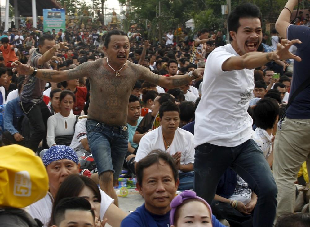 Annual Magic Tattoo Festival in Thailand