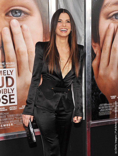 Actress Sandra Bullock attends the 'Extremely Loud & Incredibly Close' New York premiere