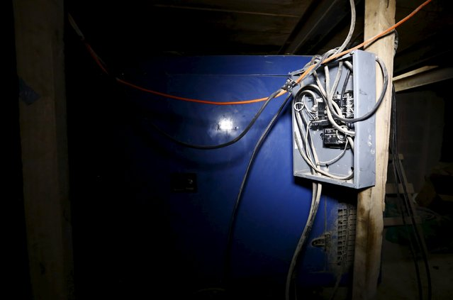 "A view of a fuse box in a tunnel connected to the Altiplano Federal Penitentiary and used by drug lord Joaquin ""El Chapo"" Guzman to escape, in Almoloya de Juarez, on the outskirts of Mexico City, July 15, 2015. (Photo by Edgard Garrido/Reuters)"