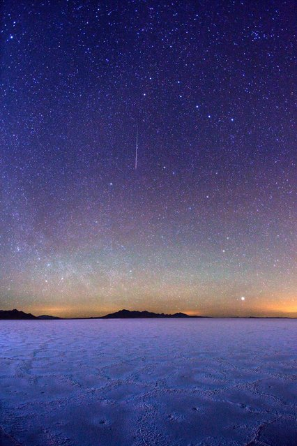 Milky Way over Lake Jackson Lake and Tetons National Park.2