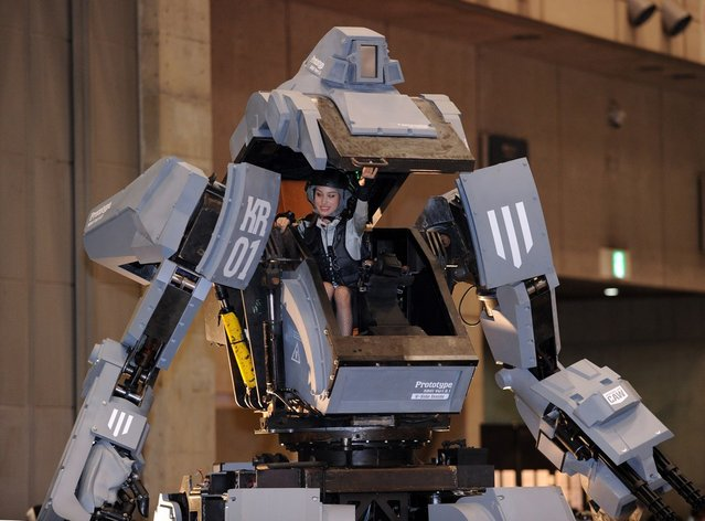 Kuratas, the million dollar robot which weighs four tons, shoots when you smile and is controlled by iPhone