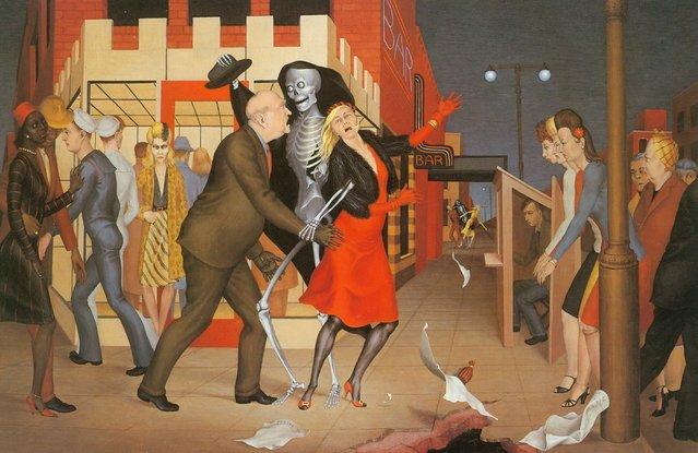 Dance. Artwork by George Tooker