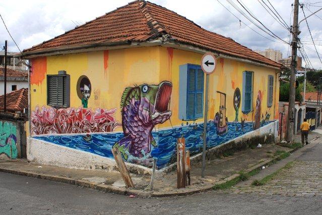 DOES/BINHO/TINHO/GRAPHIS/ANJO/DN INJA. Tucuruvi – São Paulo, 2010. (Photo by Fernando Gomes)