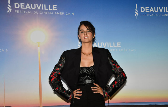 """French actress Noemie Merlant attends """"A Good Man"""" photocall at the 46th Deauville American Film Festival on September 06, 2020 in Deauville, France. (Photo by Jacques Benaroch/SIPA Press)"""
