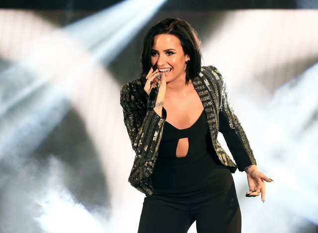 Recording artist Demi Lovato performs onstage during CBS RADIOs third annual We Can Survive, presented by Chrysler, at the Hollywood Bowl on October 24, 2015 in Hollywood, California. (Photo by Christopher Polk/Getty Images for CBS Radio Inc.)