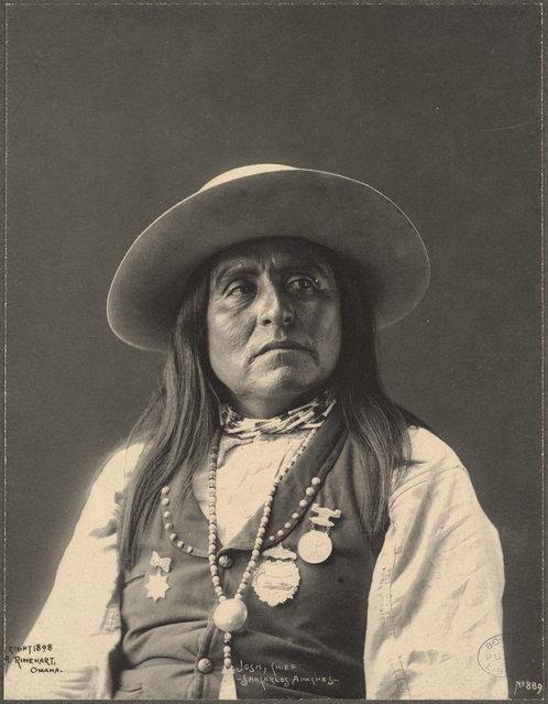 Josh, Chief, San Carlos Apaches, 1899. (Photo by Frank A. Rinehart)