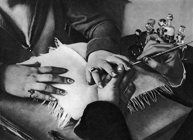 The Hands of a Manicurist, 1929. In the years after the founding of Soviet Photo – subtitled Photo-Reporting and Amateur Photography – many artists focused on developing a photographic series, such as this one on hands by Arkady Shaikhet. (Photo by Arkady Shaikhet/Lumiere Brothers Center for Photography)