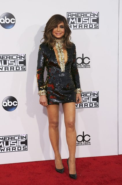Singer Paula Abdul arrives at the 2015 American Music Awards in Los Angeles, California November 22, 2015. (Photo by David McNew/Reuters)