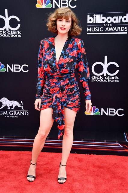 Singer-songwriter Cyn attends the 2018 Billboard Music Awards at MGM Grand Garden Arena on May 20, 2018 in Las Vegas, Nevada. (Photo by Frazer Harrison/Getty Images)