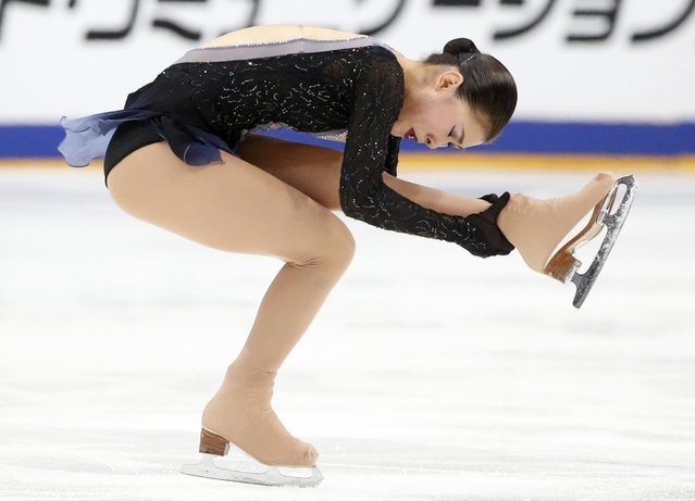 Figure Skating, ISU Grand Prix Rostelecom Cup 2016/2017, Ladies Free Skating in Moscow, Russia on November 5, 2016. Kanako Murakami of Japan competes. (Photo by Grigory Dukor/Reuters)