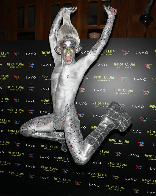 Frankie Grande attends Heidi Klum's 19th Annual Halloween Party at Lavo on October 31, 2018 in New York City. (Photo by Taylor Hill/FilmMagic)