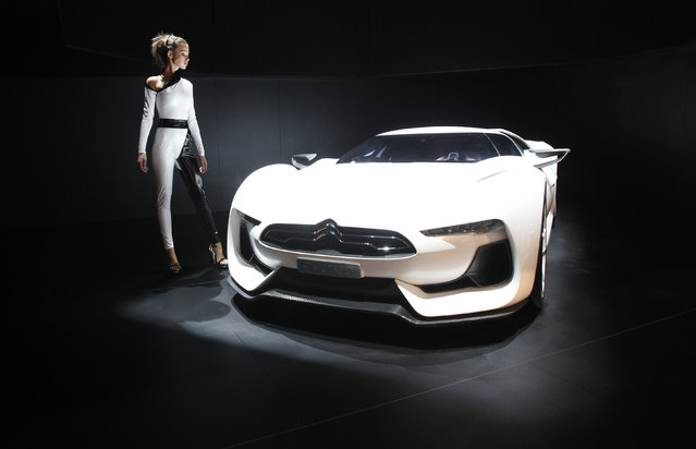 A GT by Citroen concept car is seen at the Moscow Auto Salon 2010 (the Moscow International Motor Show), August 2010. (Photo by Sergei Karpukhin/Reuters)