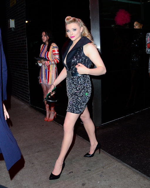Chloe Moretz at The Met Gala Afterparty Standard Hotel on May 7, 2019. (Photo by North Woods/Splash News and Pictures)