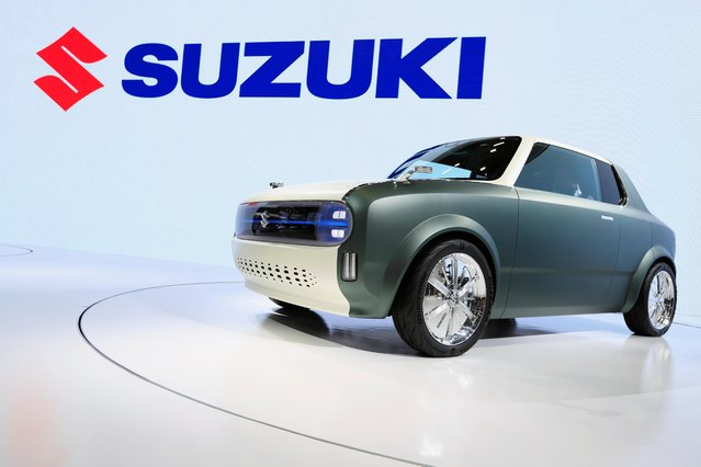 Suzuki's Waku SPO is displayed during the Tokyo Motor Show, in Tokyo, Japan on October 23, 2019. (Photo by Soe Zeya Tun/Reuters)