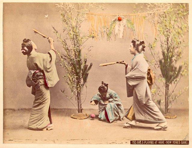 Girls Playing at Hane