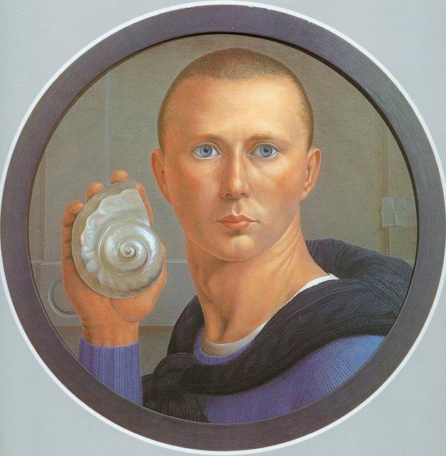Self Portrait. Artwork by George Tooker