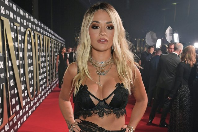 Rita Ora attends the the GQ Men Of The Year Awards 2019 in association with HUGO BOSS at the Tate Modern on September 3, 2019 in London, England. (Photo by David M. Benett/Dave Benett/Getty Images for HUGO BOSS)