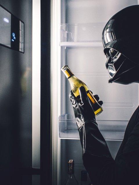 The Daily Life Of Darth Vader By Pawel Kadysz