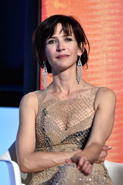 Sophie Marceau  attends the closing ceremony during the 68th annual Cannes Film Festival on May 24, 2015 in Cannes, France. (Photo by Pascal Le Segretain/Getty Images)
