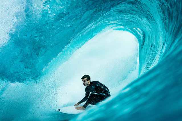"""""""Jack in a Box"""". (Photo by Tom Pearsall/2020 Nikon Surf Photography Awards)"""