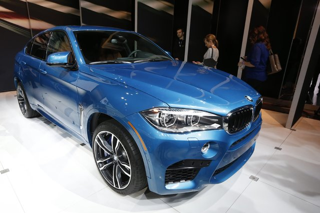 The BMW X6M is shown during the model's world debut at the Los Angeles Auto Show in Los Angeles, California November 19, 2014. (Photo by Lucy Nicholson/Reuters)