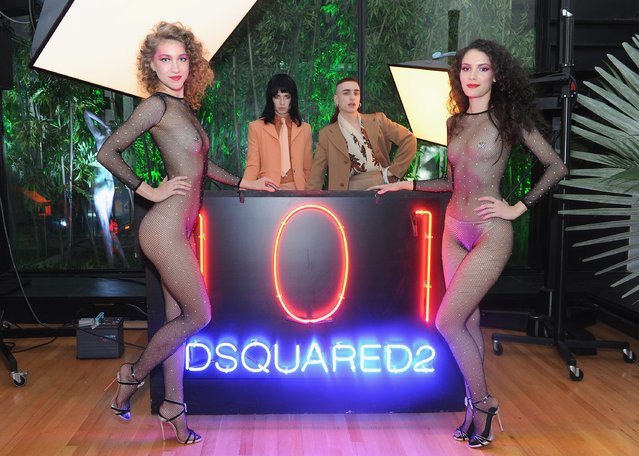 Disco Smack performs as Dean and Dan Caten celebrate their one year U.S. retail anniversary with a private party at The Halston House on October 24, 2015 in New York City. (Photo by Craig Barritt/Getty Images for DSQUARED2)