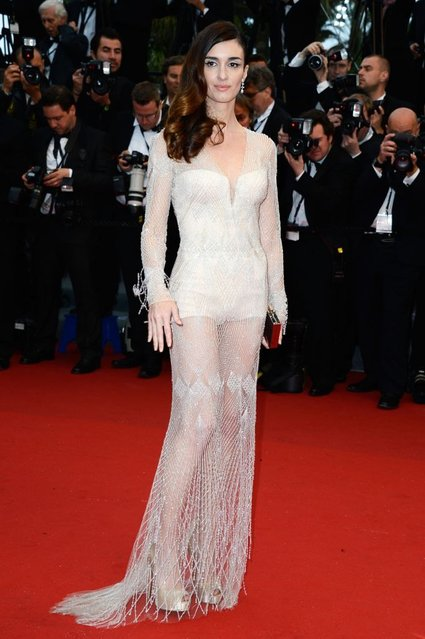 """Paz Vega attends the Opening Ceremony and """"The Great Gatsby"""" Premiere during the 66th Annual Cannes Film Festival at the Theatre Lumiere on May 15, 2013 in Cannes, France. (Photo by Pascal Le Segretain/Getty Images)"""