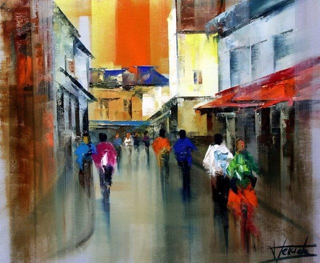 Painting By Josep Teixido