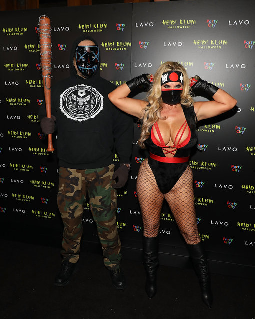 Ice-T and Coco attend Heidi Klum's 19th Annual Halloween Party at Lavo on October 31, 2018 in New York City. (Photo by Taylor Hill/FilmMagic)